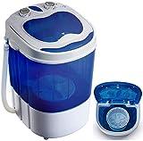 Mini Waschmaschine mit Schleuder   Waschautomat bis 3 KG   Reisewaschmaschine   Miniwaschmaschine   Camping...