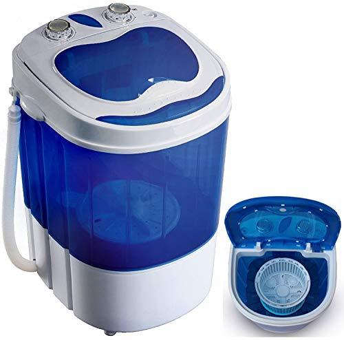 Mini Waschmaschine mit Schleuder | Waschautomat bis 3 KG | Reisewaschmaschine | Miniwaschmaschine | Camping...