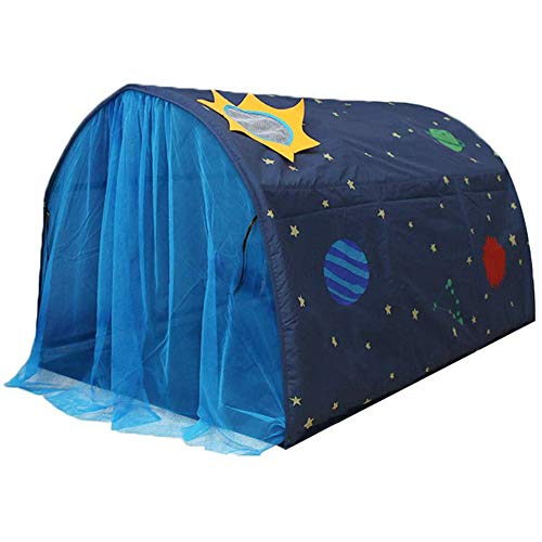 Kinderzelt für Mädchen Jungen Powcan Spielzelt für Kinder Galaxie Sternenhimmel...