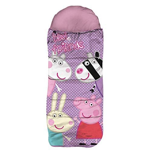 SkyBrands Peppa Wutz Schlafsack Peppa Pig Kinderschlafsack Winterschlafsack als Geschenk...