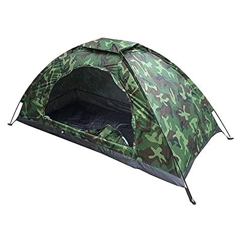 AIBOOSTPRO Camping Zelt, Tragbar und leicht Wasserdicht 1 Mann Zelt für Strand, Trekking,...