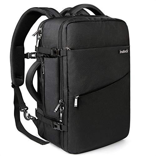 Inateck 40L Supergroßer Handgepäck Reiserucksack Laptop Rucksack für 15,6-17 Zoll...