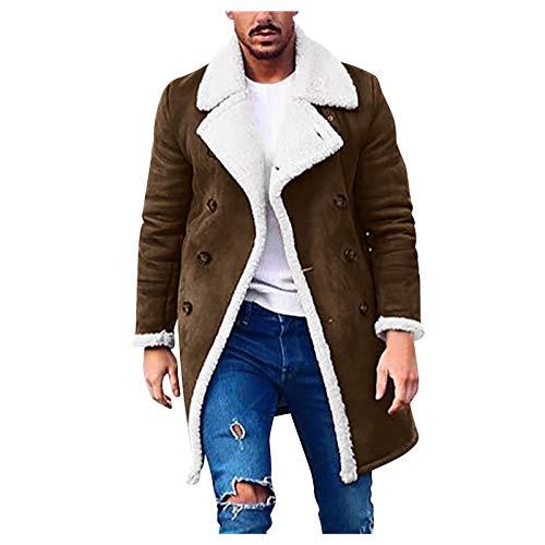 BaZhaHei Herren Winter Warm Softshell für Windproof Soft Coat Shell Jacke Einfarbig Basic...