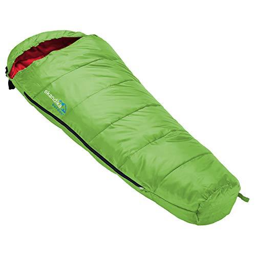 skandika Vegas Junior Kinderschlafsack | Outdoor Camping Schlafsack für Kinder, weiches Innenfutter,...