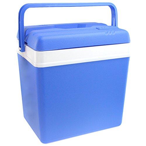 Smartweb Kühlbox 24 Liter Thermobox Kühltasche Isolierbox Warmhaltebox Camping...