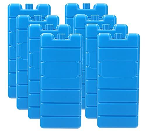 VonBueren Kühlakku 8 x | 12h | 200 g | 7,5 x 16,5 x 2 cm | z.B. Kühlakkus für...