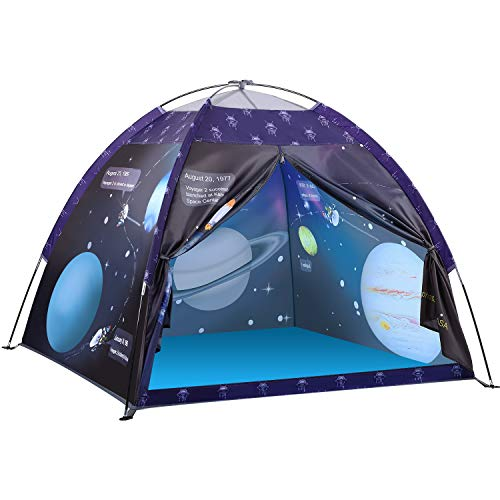 Kinderzelt Spielzelt, Exqline Galaxis Themenzelt Universum Pop-up Zelt Tragbare Faltbare, Campingzelt mit...