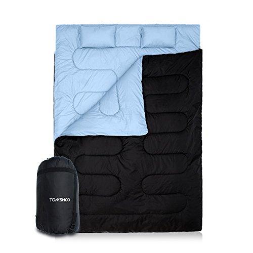 TOMSHOO Doppelschlafsack flexibel einsetzbar