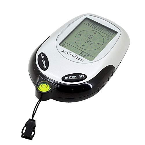huihui Wandern Messer 6 in 1 Multifunktions-Digital Altimeter mit Kompass und Barometer &...