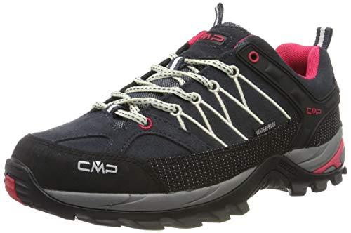 CMP Damen Rigel Low Wmn Shoes Wp Trekking-& Wanderhalbschuhe, Grau (Antracite-Off White...