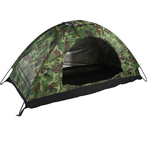 MAGT Camping-Zelt - Wasserdicht Eine Person Zelt- Außen Tarnung UV-Schutz for das...