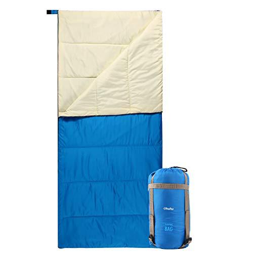 Schlafsack, Ohuhu Warmes Schlafsack Tragbar Leicht Wasserdicht Schlafsack mit...