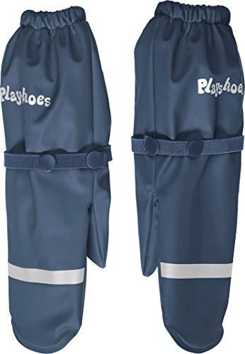 Playshoes Unisex Kinder Matschhandschuhe Neon Handschuhe, Marine, 2