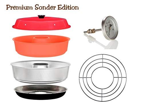 Sun and Ice Omnia Spar-Set 4-teilig - Camping Backofen Sonder Edition + Silikonform +...