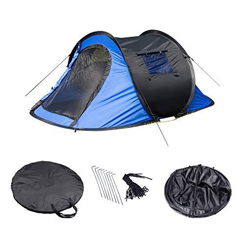 Laneetal Campingzelt Wurfzelt 2-3 Personen Zelt Sekundenzelt Camping Festival Outdoor...