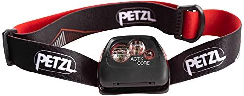 PETZL Unisex Actik Core Stirnlampe, Rot, Einheitsgröße