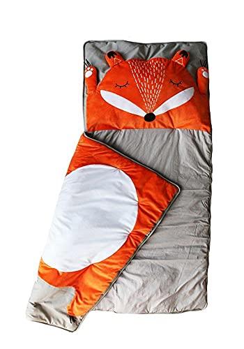 Kinderschlafsack Fuchs   Schlafsack für Kinder   Mumienschlafsack Leicht & Kompakt  ...