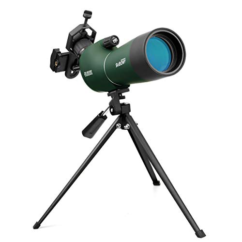 Svbony SV28 Spektiv Sportschützen 20-60x60 BAK4 Prisma MC Optik Monokular Teleskop...