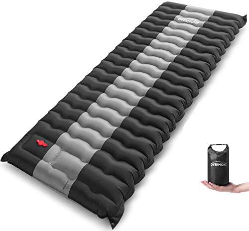Overmont Camping Isomatte 12cm Dick für Camping Wanderungen Backpacking Reisen Zelte...