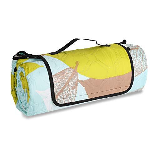 Sekey 200 x 200cm Picknickdecke wasserdicht, Camping Decke Picknickdecke mit tragbarem...