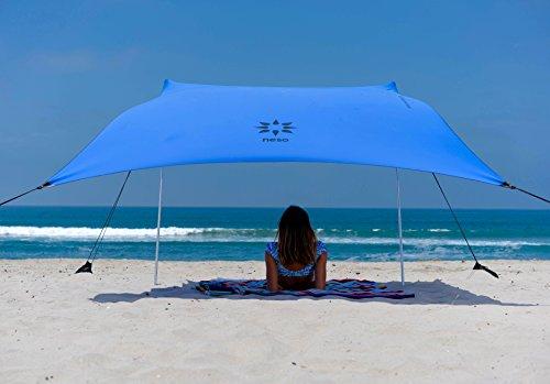Neso Zelte Strand Zelt mit Sand Anker, Portable Baldachin Sunshade - 2,1m x 2,1m -...