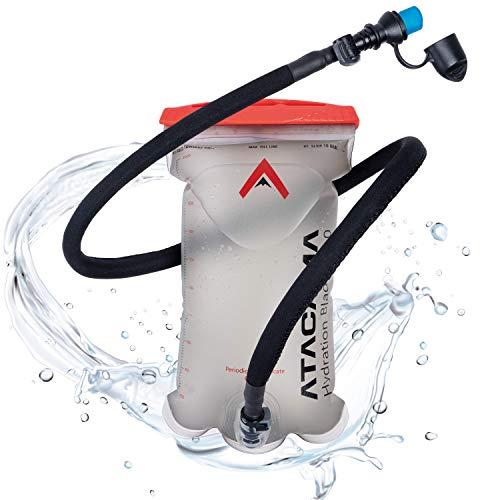 Atacama Trinkblase 2L BPA frei - 2 Liter Rucksack Wasserbeutel mit insuliertem...