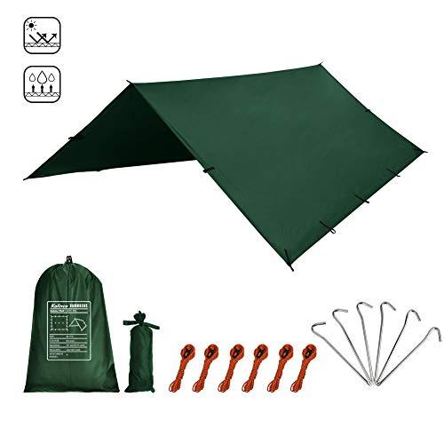 KALINCO Zeltplane Tarp für Hängematte Regenschutz Sonnensegel für Ourdoor Camping...