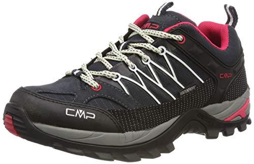 CMP – F.lli Campagnolo Damen Rigel Low Wmn Shoe Wp Trekking-& Wanderhalbschuhe, Grau...