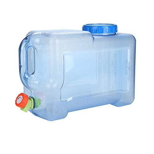 YORKING 12L Outdoor Wasserkanister mit Faucet,Hahn Trinkwasserkanister Camping Trinkwasser...