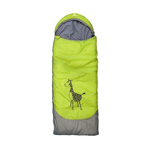outdoorer Kinderschlafsack Dream Express Grün - Kinderschlafsack aus Baumwolle mit...