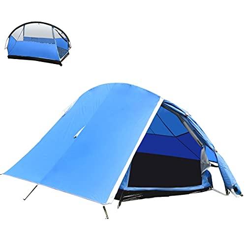 BACKTURE Campingzelt, Ultraleichte 1-2 Personen Campingzelt Wasserdicht UV-Schutz,...
