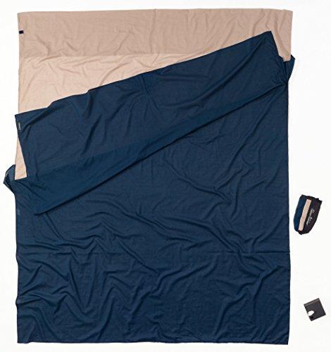 Cocoon ECD25/24 Reisesteppdecke für Herren, Blau, 220 x 180 cm