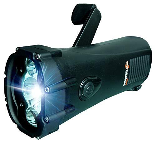 POWERplus Shark Wasserdichtes Dynamo Kurbel / USB aufladbares LED-Taschenlampe / Not...