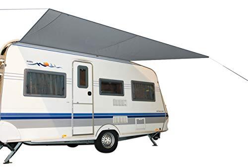 Bo-Camp Sonnensegel XL Wohnwagen Wohnmobil Markise Vordach Keder Bus 4,6 x 2,4 m