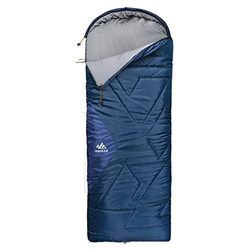 Unigear Camfy Bed 30°F Camping Schlafsack für Erwachsene & Kinder, Deckenschlafsack für...