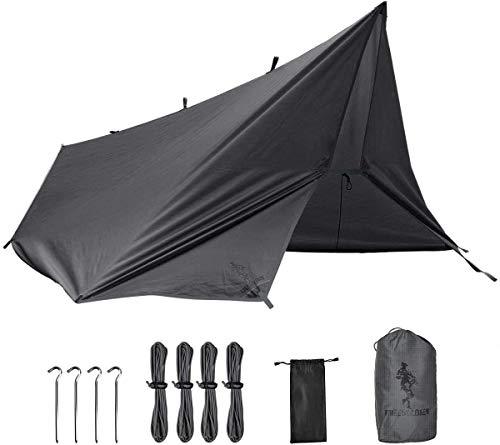 FREE SOLDIER Tarp Wasserdicht 3m x 3,2m Tarp Ultraleicht Zeltplanen UV Schutz Camping...