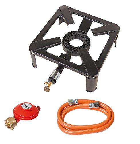ROTHENBERGER Industrial Hockerkocher inkl. 1,5 m Propan-Gas-Schlauch &...