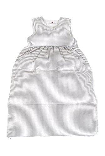 Tavolinchen Babyschlafsack Daunenschlafsack'Streifen klassisch' Kinderschlafsack - grau -...