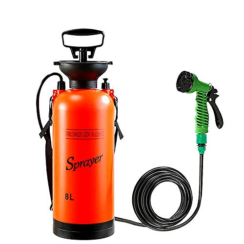 Magent Camping-Dusche Campingdusche Solardusche Tasche, 8L Tragbare Solar Gartendusche Außen Warmwasser...