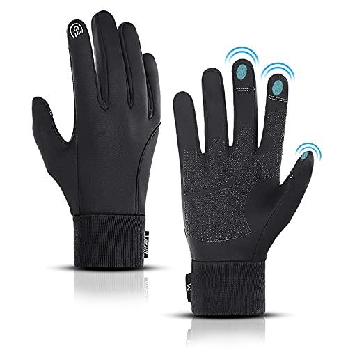 LERWAY Winter Warme Handschuhe, Touchscreen Winterhandschuhe Herren Damen...