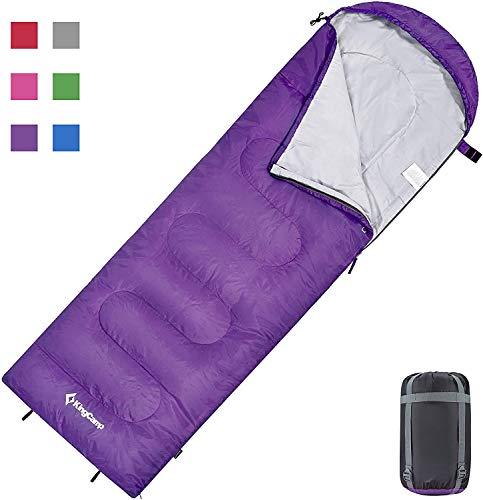KingCamp Oasis Deckenschlafsäcke mit Kopfteil für Erwachsenen Leichtgewicht 3...