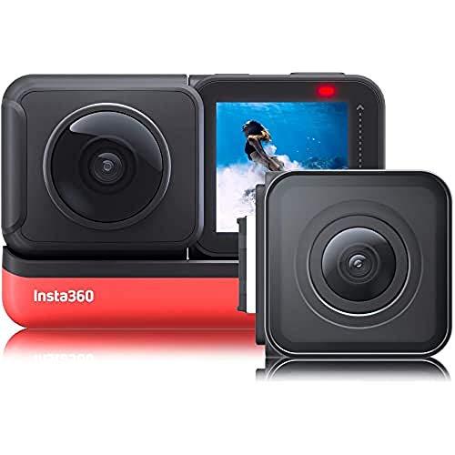 Insta360 VR Action Camera - One R Twin Edition-Reihe - 4K-Weitwinkelobjektivmodul -...