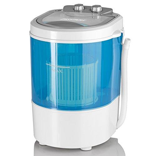EASYmaxx Mini-Waschmaschine ideal zum Waschen unterwegs | Kompakte Waschmaschine mit...