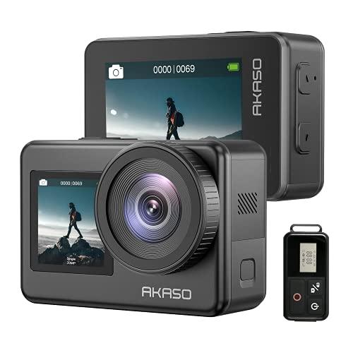 AKASO Action Cam 4K 20MP WiFi Action Kamera IPX8 Wasserdicht Unterwasserkamera EIS 2.0 mit...