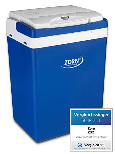 Zorn® Z32 I Elektrische Kühlbox I Kapazität 30 L I 12/230 V für Auto, Boot, LKW,...