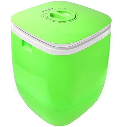 Syntrox Germany Kg WM-150W Waschmaschine mit Schleuder Campingwaschmaschine Mini Waschmaschine (Chef Cleaner...