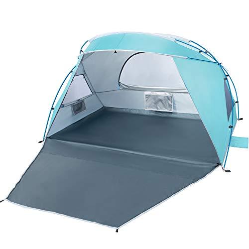 Forceatt 2-3 Personen Beach Camping Schatten Zelt,Sonnenschutz UPF50 +, einfache...