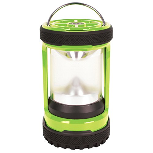 Coleman Led Lampe Push+ 200 LED Lantern, grün-schwarz, M, 2000024920