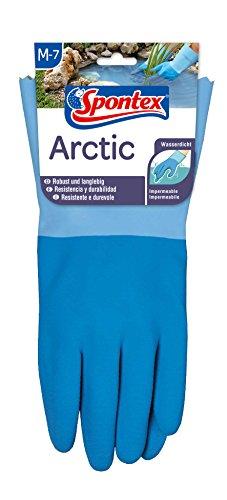 Spontex Arctic Arbeitshandschuhe, für grobe Arbeiten bei Nässe und Kälte, wasserdicht...
