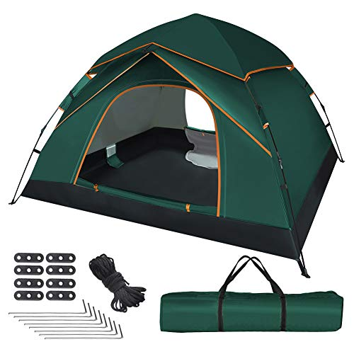 UOUNE Camping Zelt 2-3 Personen Kuppelzelt Wasserdicht Zelt Ultraleichte UV Schutz...